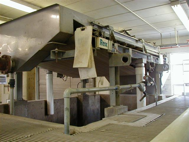Belt Presses - Envrex GBT  2.0 Meter