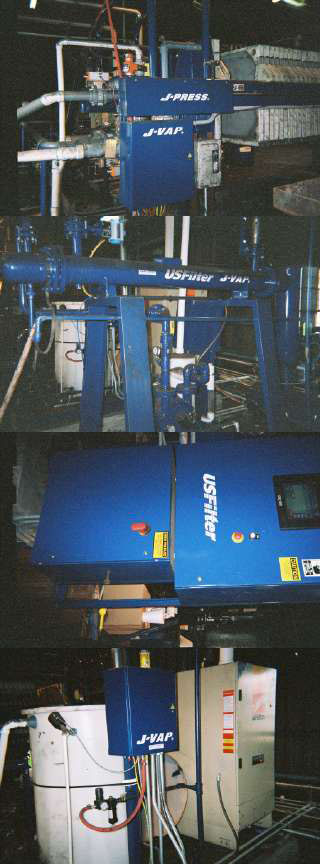 Filter Press - 15 cu.ft. JWI J-Vap press