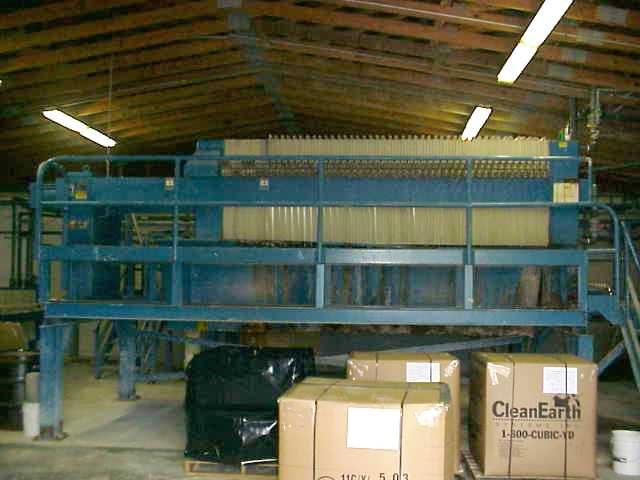 Filter Press - 60 cu.ft. JWI Filter Press (non-gasketed plates)
