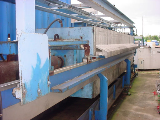 Filter Press - 89 cu.ft. Netzsch Filter Press (225 psi)