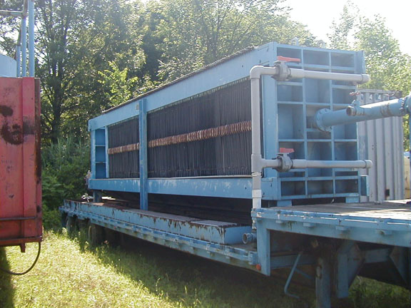 Filter Press - JTrailer Mounted 100 cu.ft. Durco